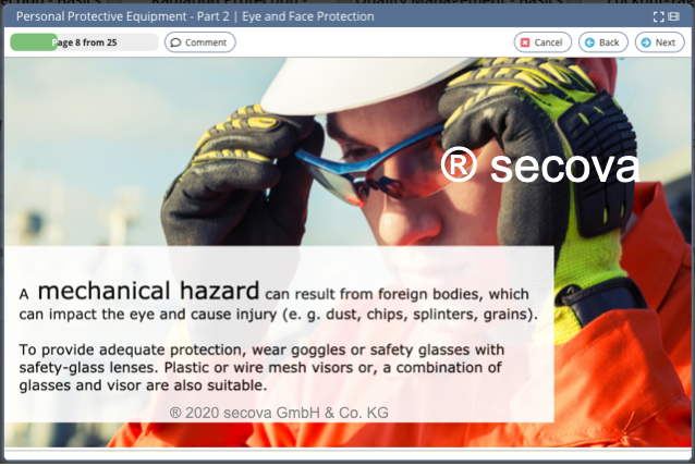 Topic Personal Protective Equipment - Part 2